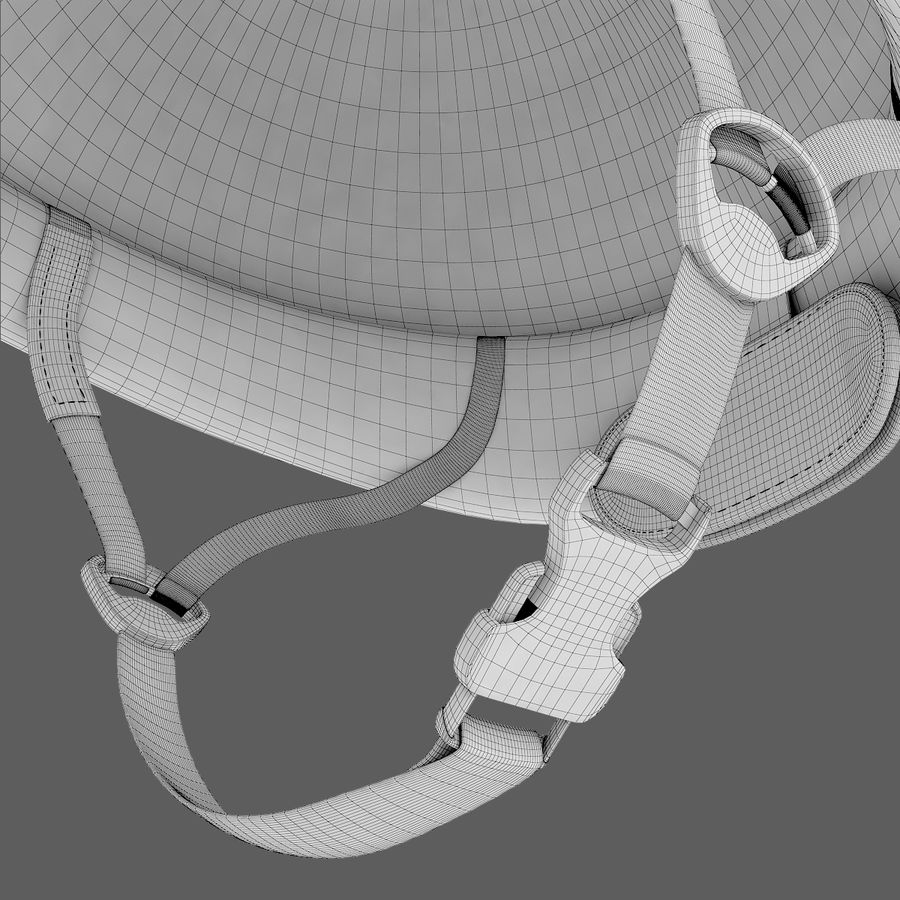 wireframe 3d configurator for riding helmets