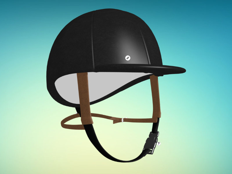 Horse helmet 3d viewer