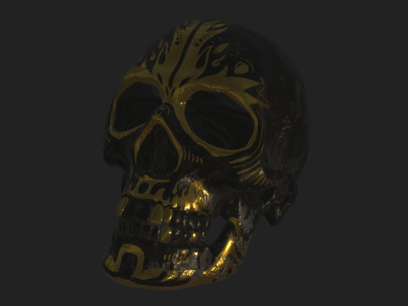 Vodoo skull viewer